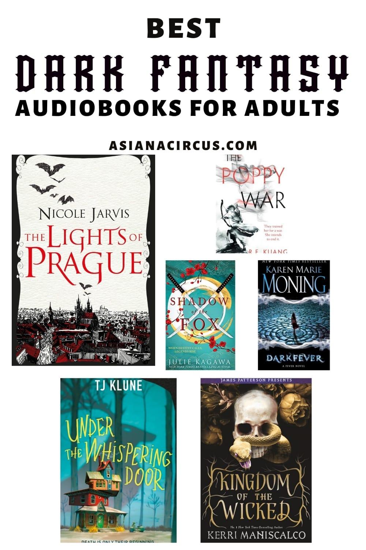 greatest dark fantasy audiobooks