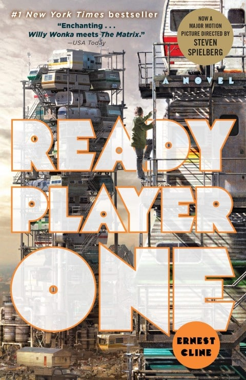 Ready Player One by Ernest Cline, Dystopian LitRPG, Published 2011 (Small)
