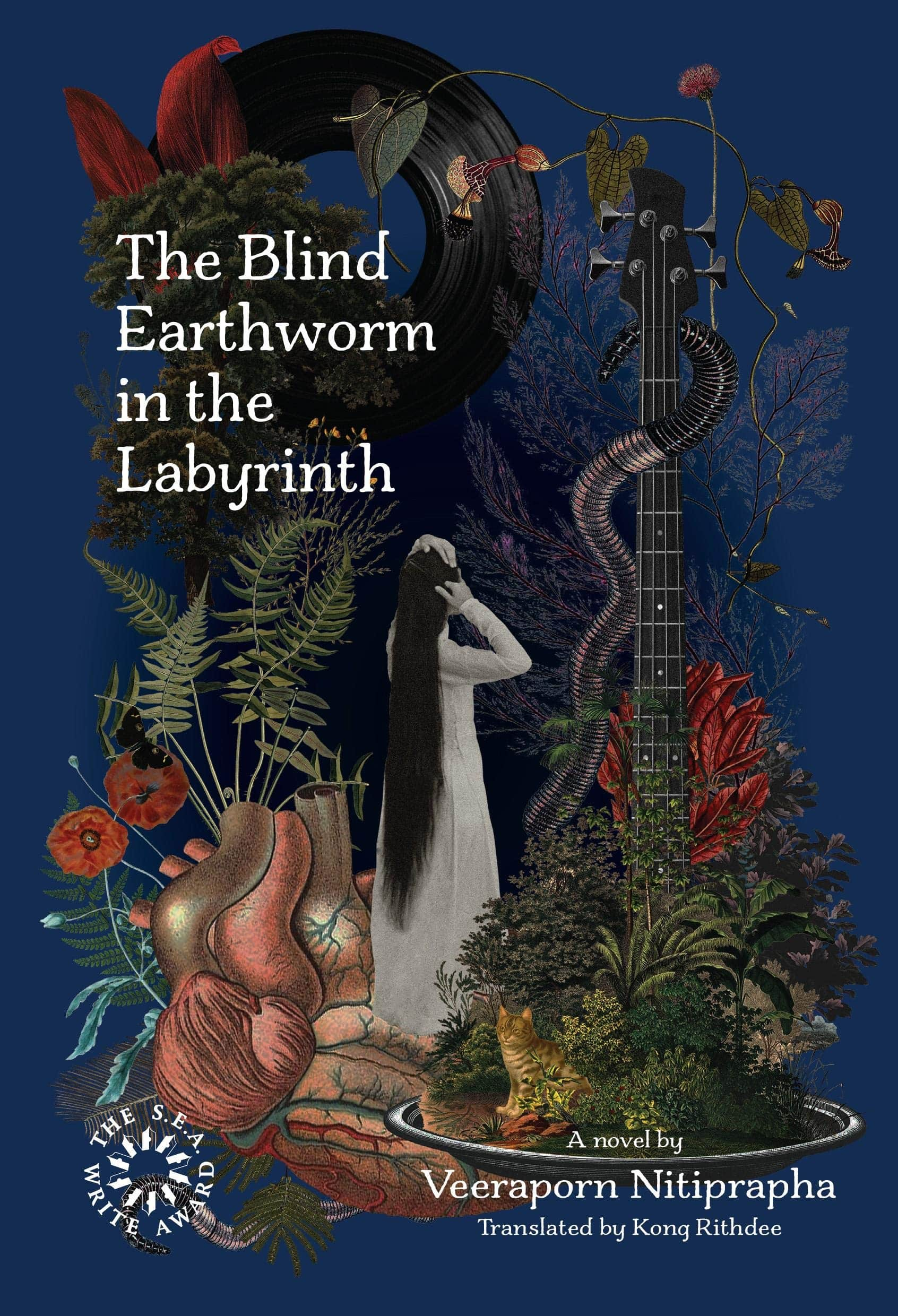 The Blind Earthworm in the Labyrinth by Veeraporn Nitiprapha, Domestic Fiction Set in Thailand, Published 2019
