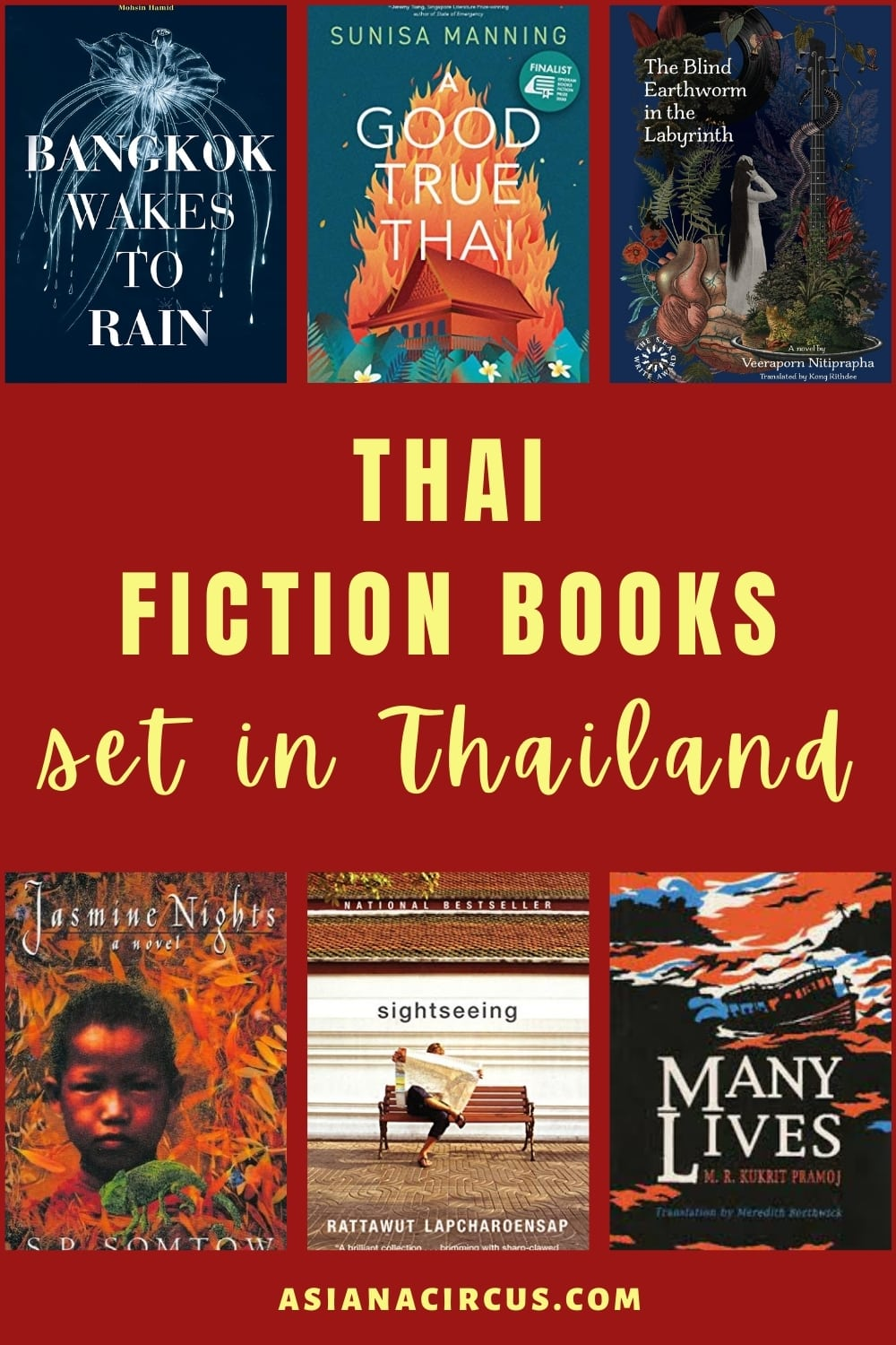 best Thai Books Set in Thailand (1)