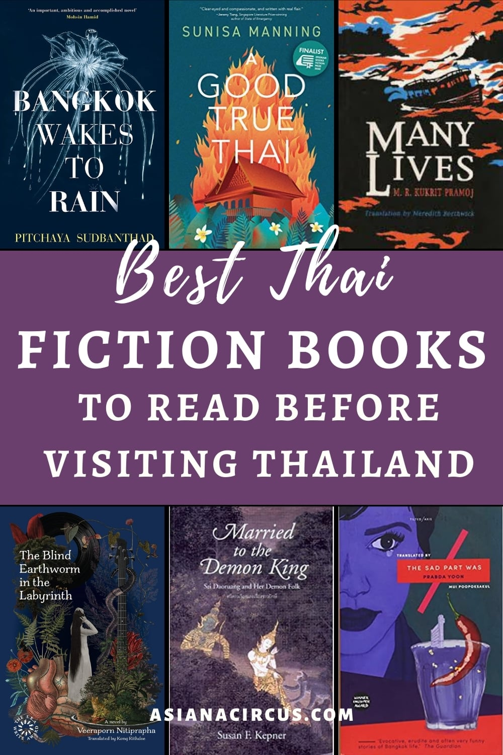 best Thai Books Set in Thailand (2)