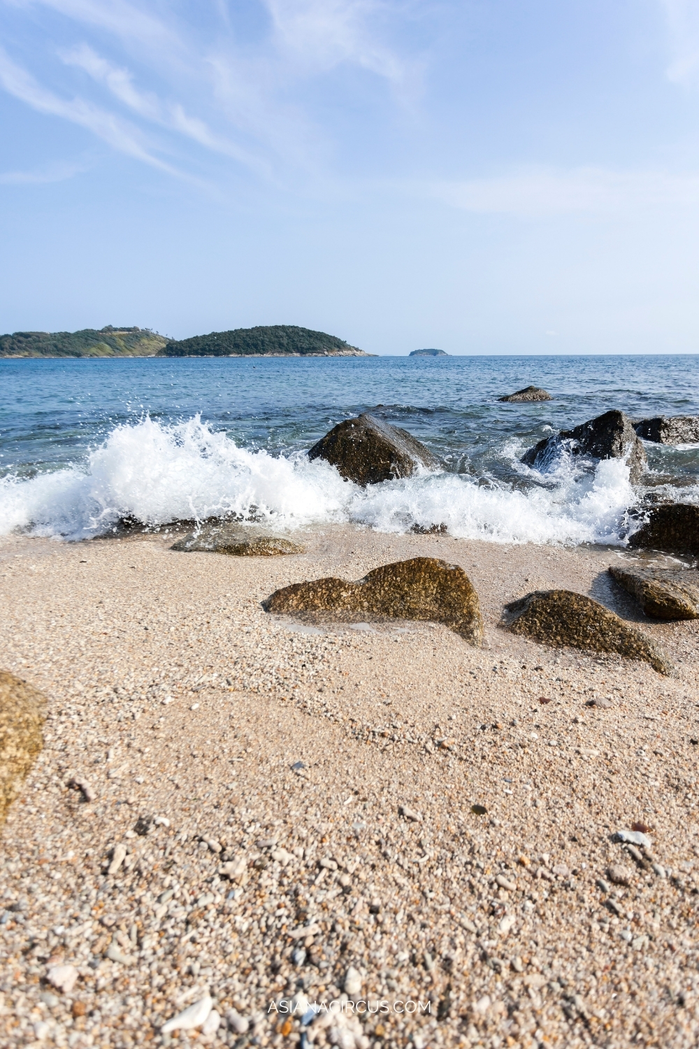 Ao Sane beach for snorkeling and diving - best beaches in Phuket, Thailand