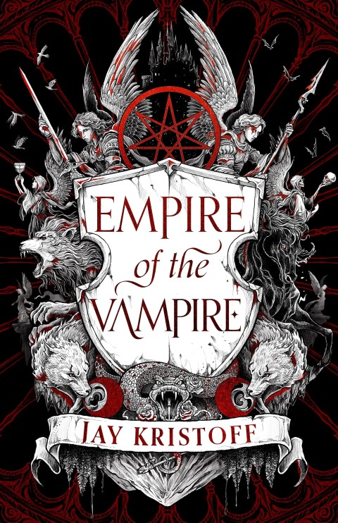 Empire of the Vampire by Jay Kristoff - best horror fantasy books with vampires (Small)