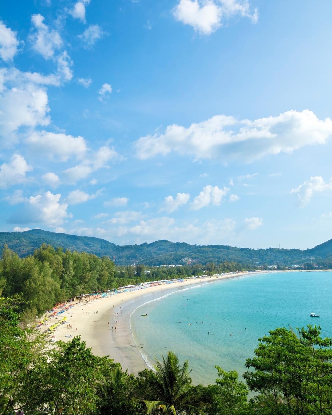 Kamala Beach for families and couples - Phuket beaches, Thailand