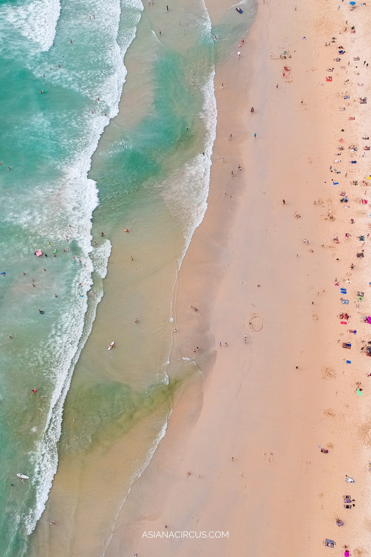 Karon beach for families