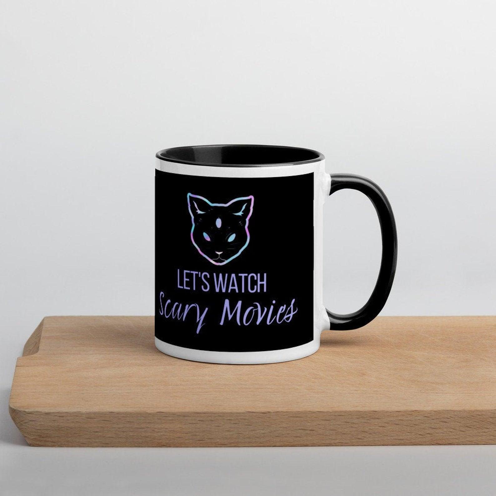 Let's Watch Scary Movies Mug - Horror Movie Mug - Horror Mug