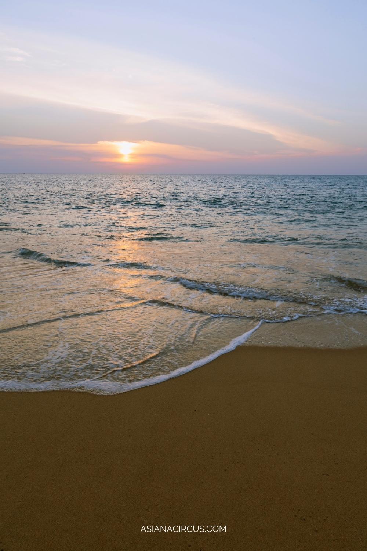 Mai Khao beach for Quiet - best beaches in Phuket, Thailand