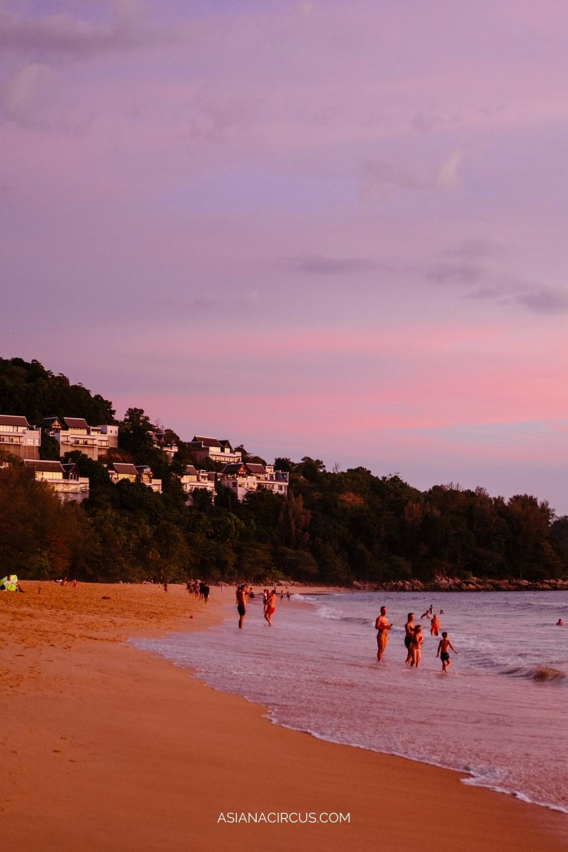 Nai Thon Beach for quiet