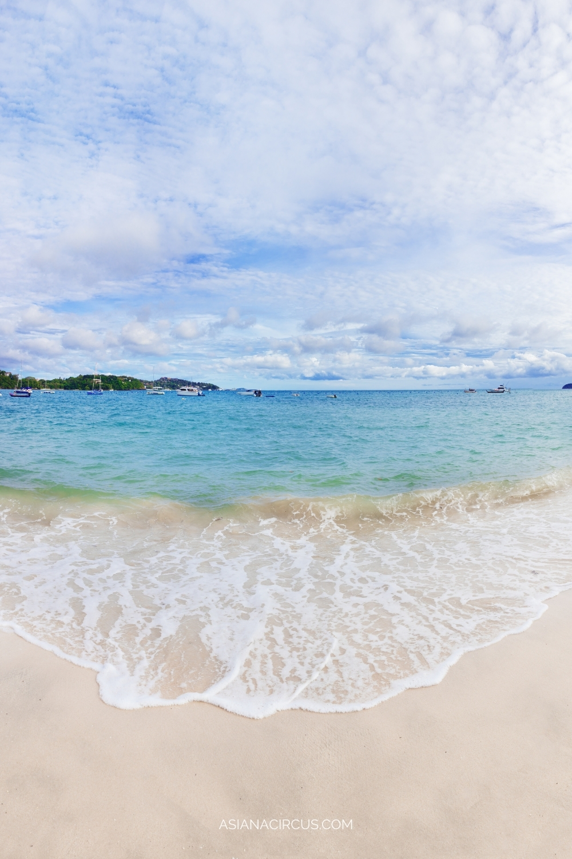 Panwa Beach for quiet