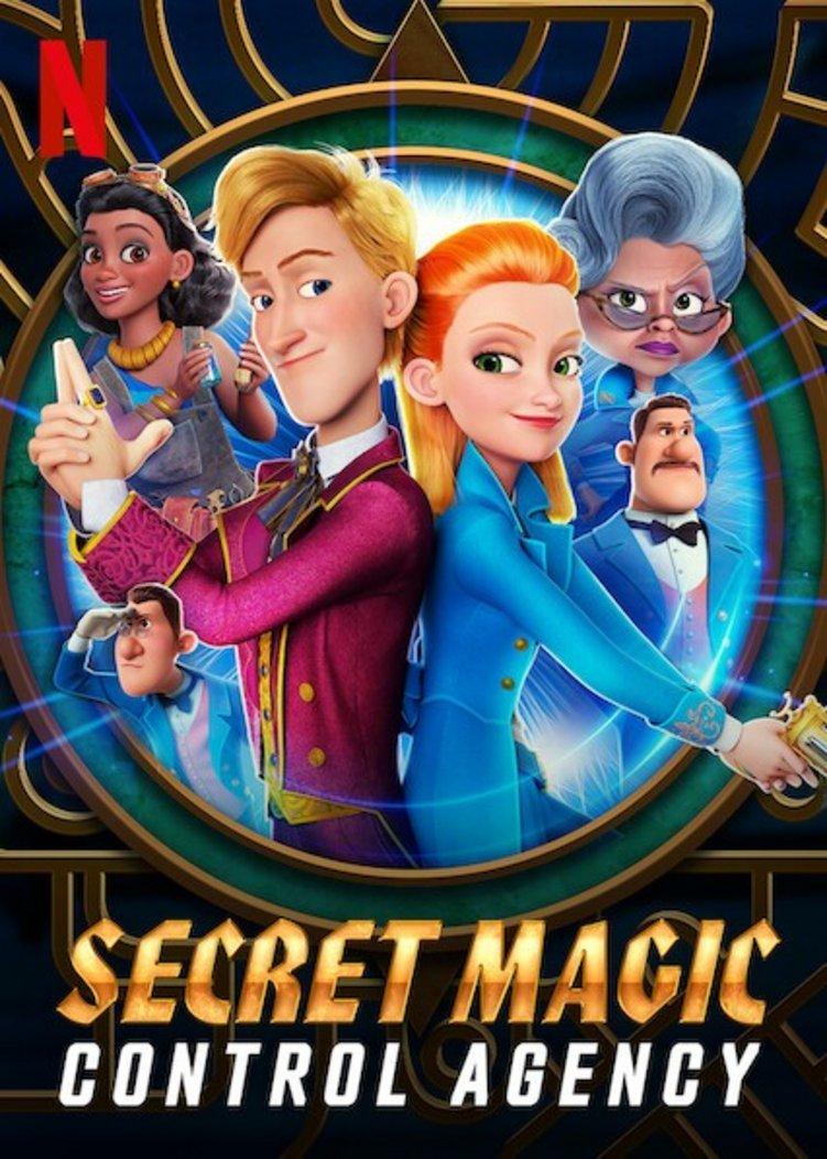 Secret Magic Control Agency - family witch movie