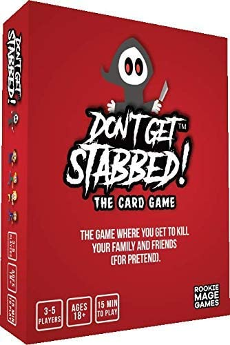 Don't Get Stabbed! - adult card game for horror game nights