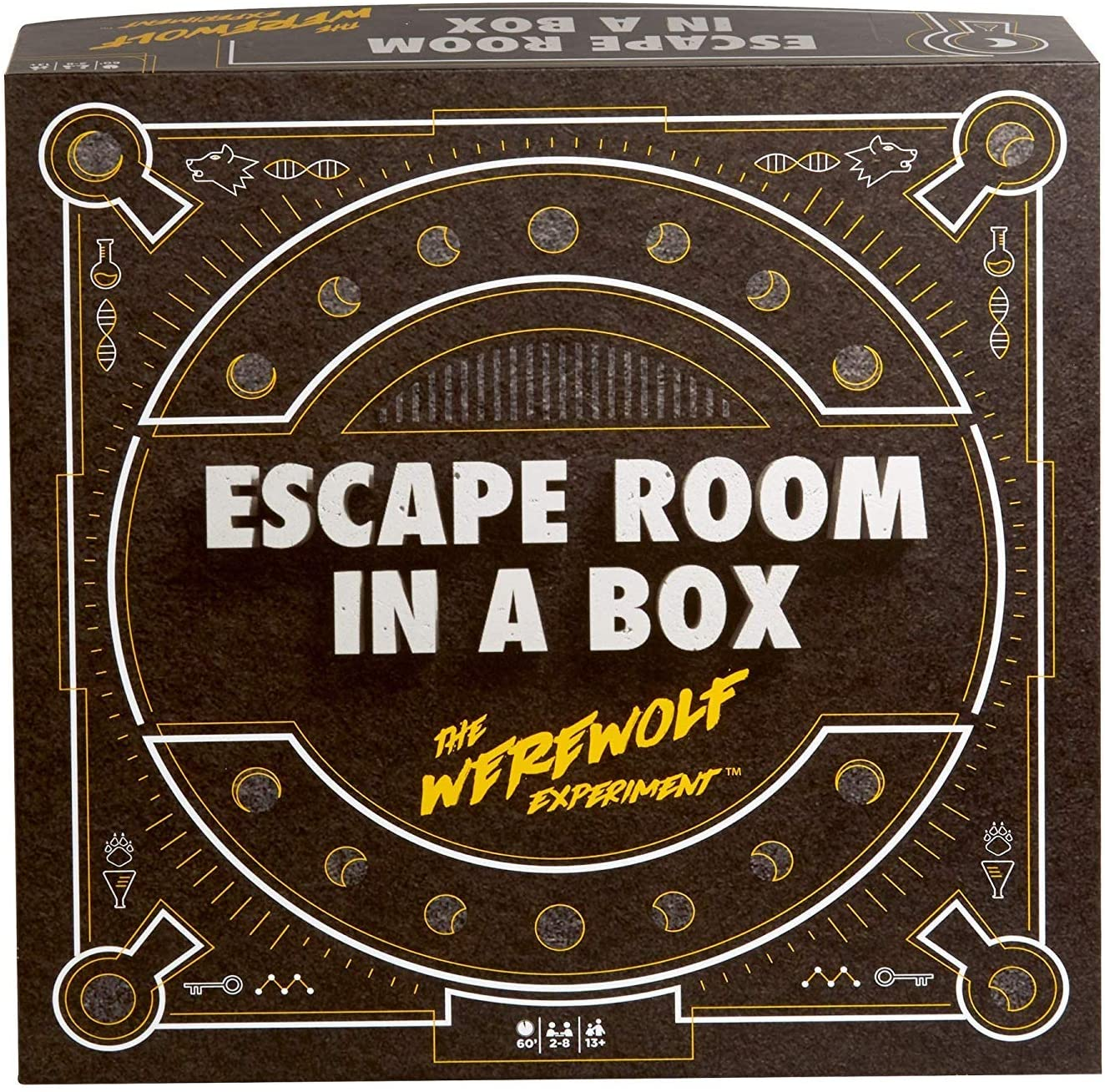 Escape room in a box for game nights for adults