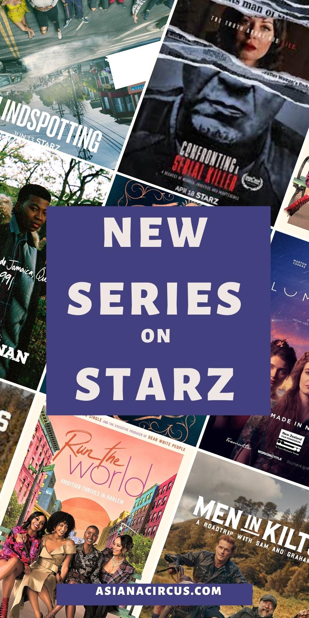 NEW series on starz