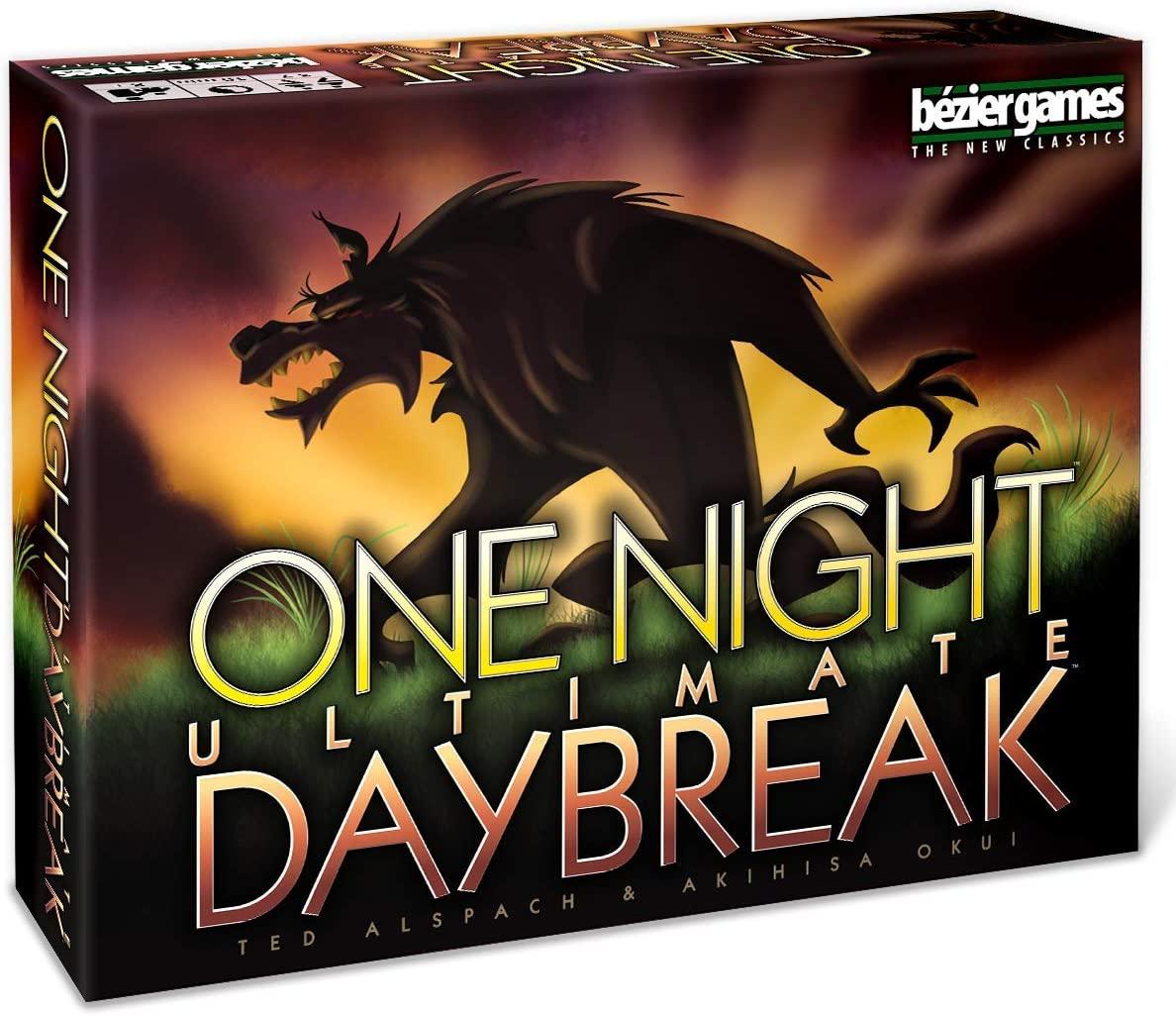 One Night Ultimate Werewolf Daybreak - adult game night ideas