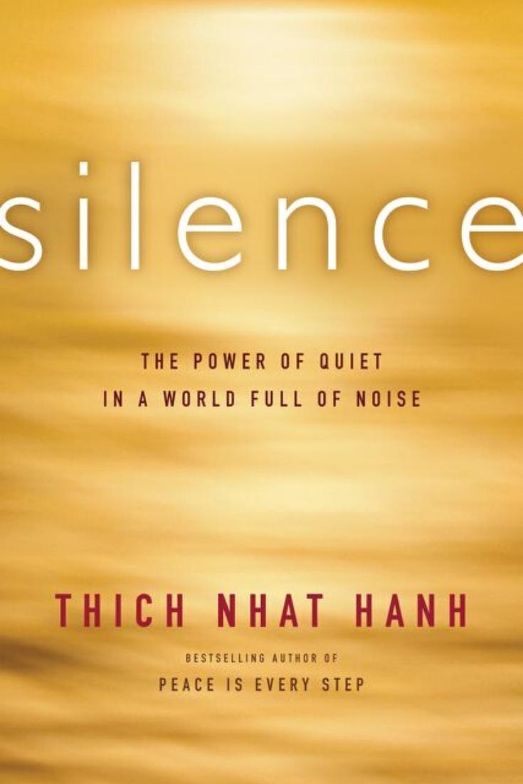 Silence - books on mindfulness