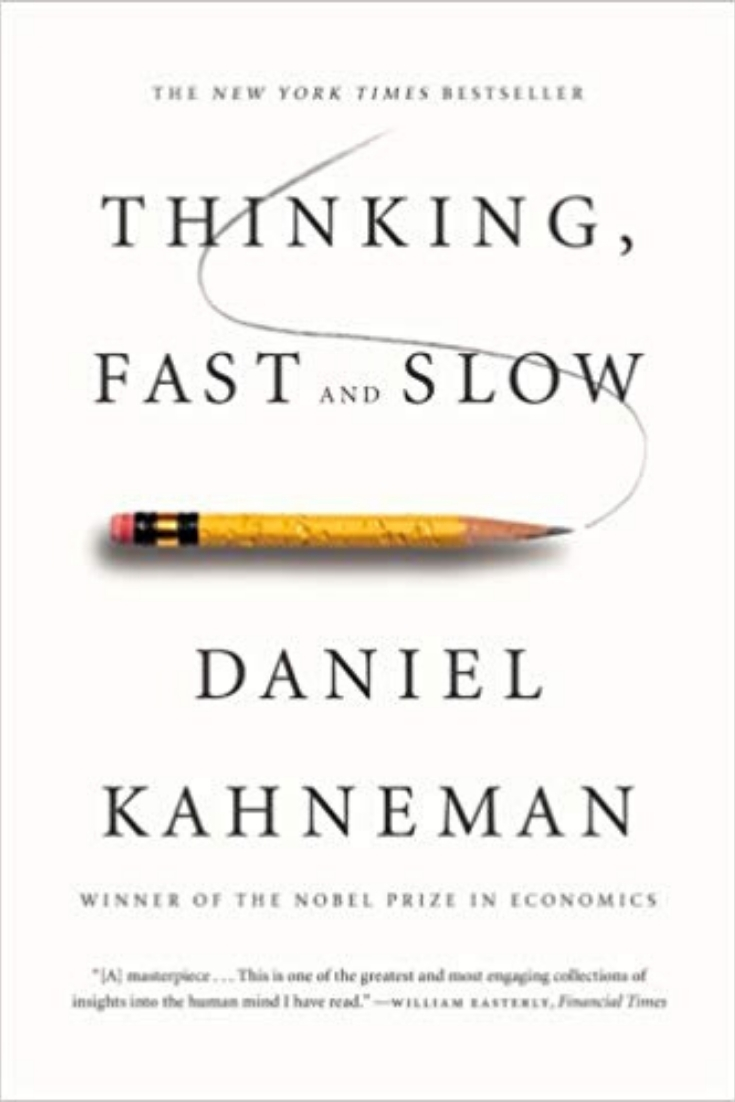 Thinking fast and slow - best books on mindfulness
