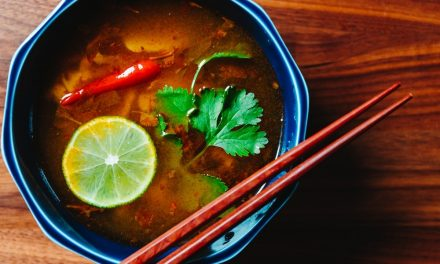 Vegetable Tom Yum Soup Recipe  – Thai hot and sour soup