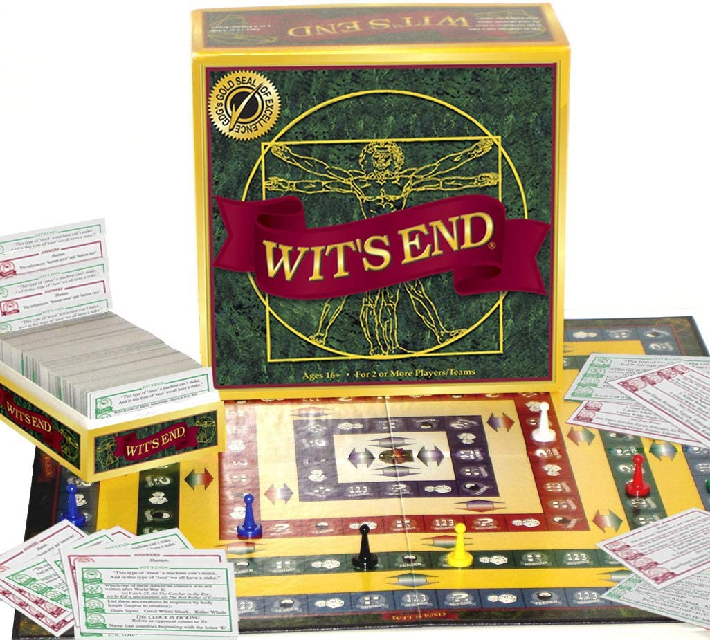 Wit's End Board Game for adults