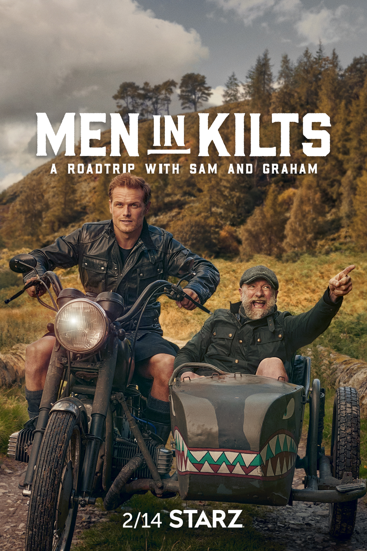 Men in Kilts: A Roadtrip with Sam and Graham - new shows on starz