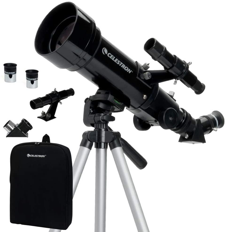 70mm Travel Scope - Portable Refractor Telescope