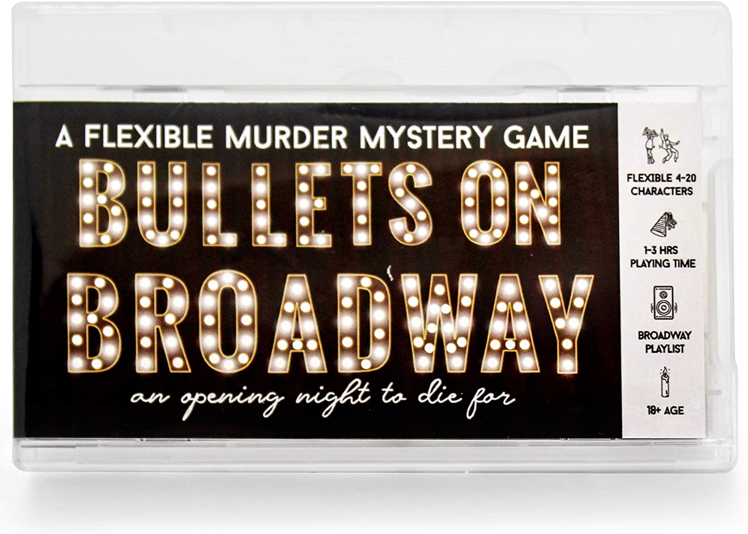 Bullets on Broadway Murder Mystery Party Game