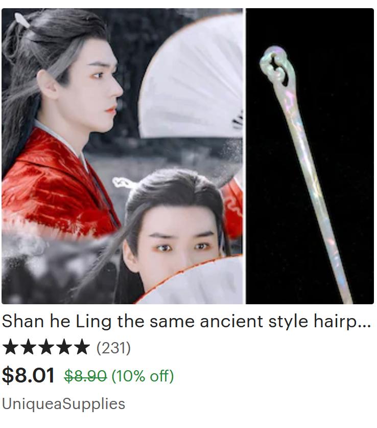 Chinese Drama Inspired Hair pin
