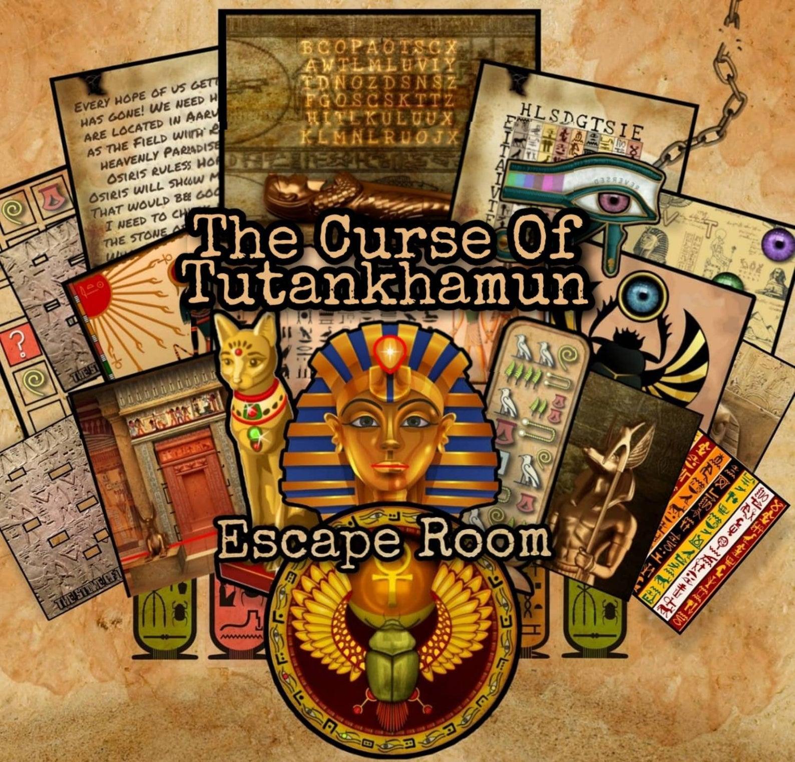 Curse Of Tutankhamun DIY Escape Room Kit