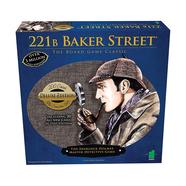 Deluxe 221B Baker Street Board Game - 200 Intriguing Adventures