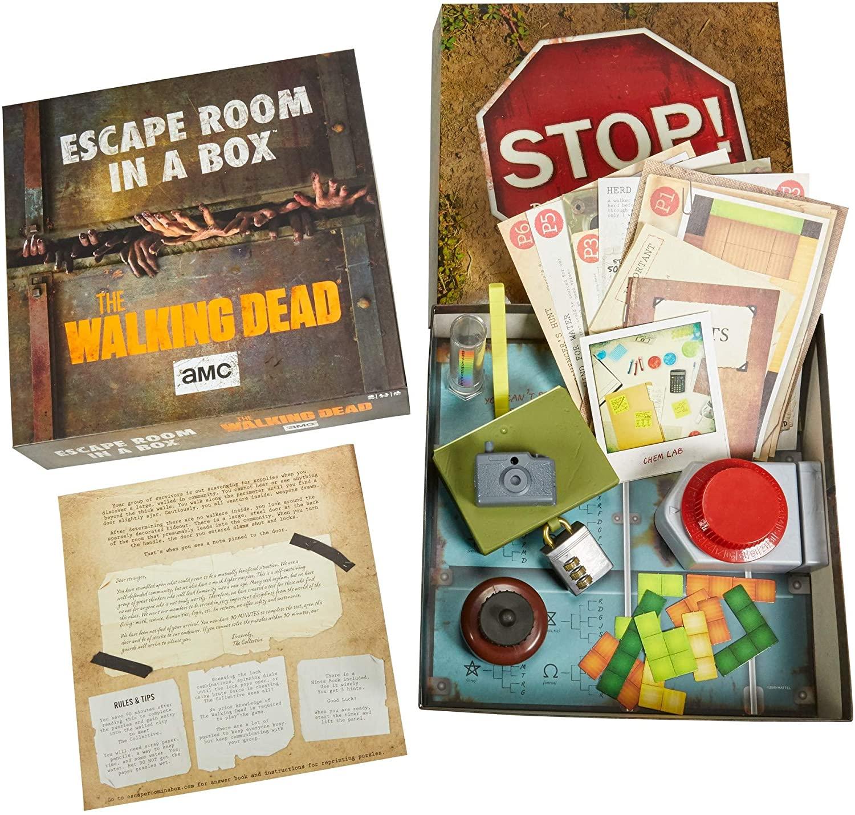 Escape Room in a Box The Walking Dead scariest escape room kits