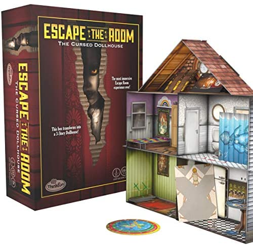 Escape The Room The Cursed Dollhouse - scary escape room kit for adults