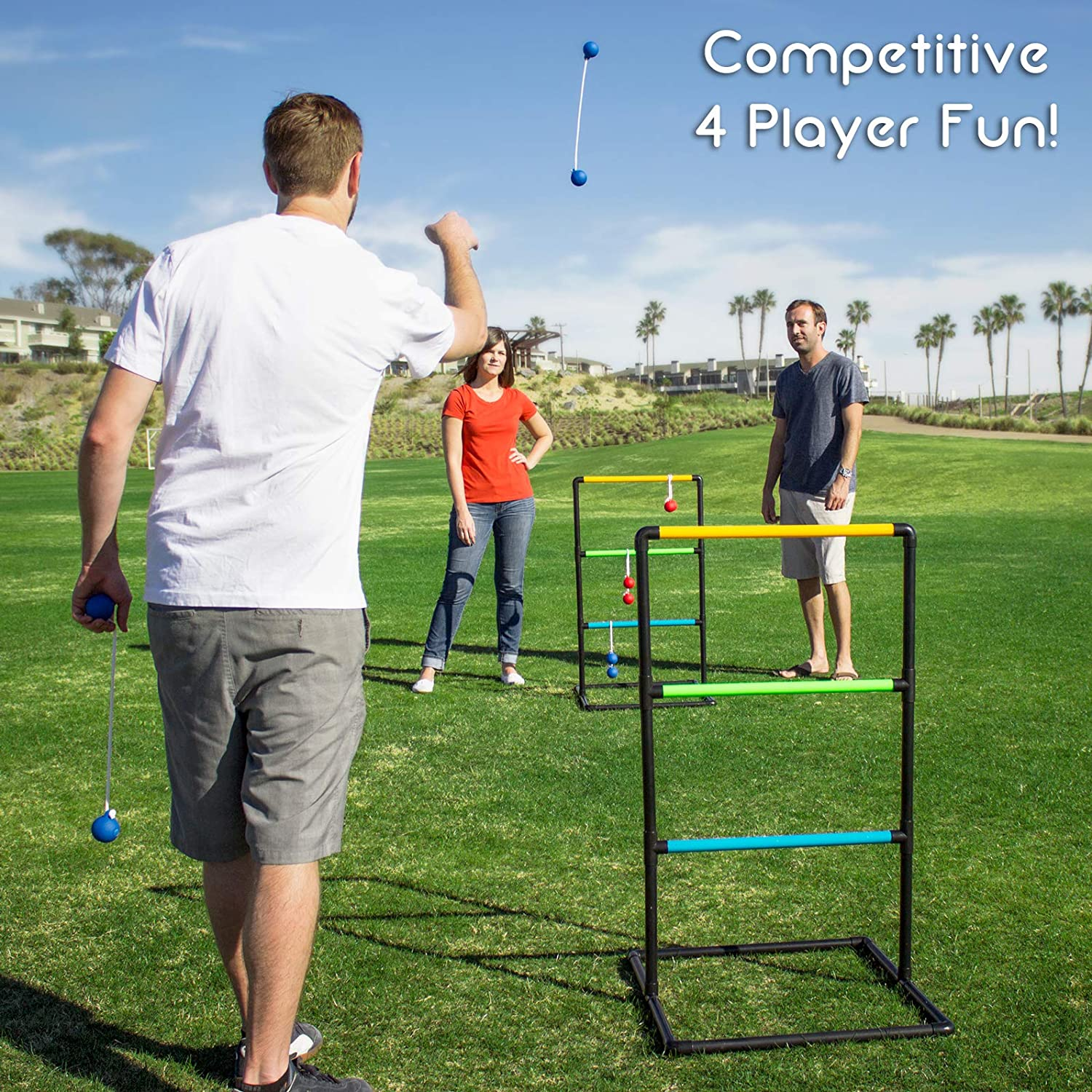 GoSports Pro Grade Ladder Toss outdoor games for adults