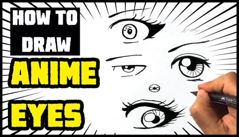 How to Draw Anime Eyes For Beginners