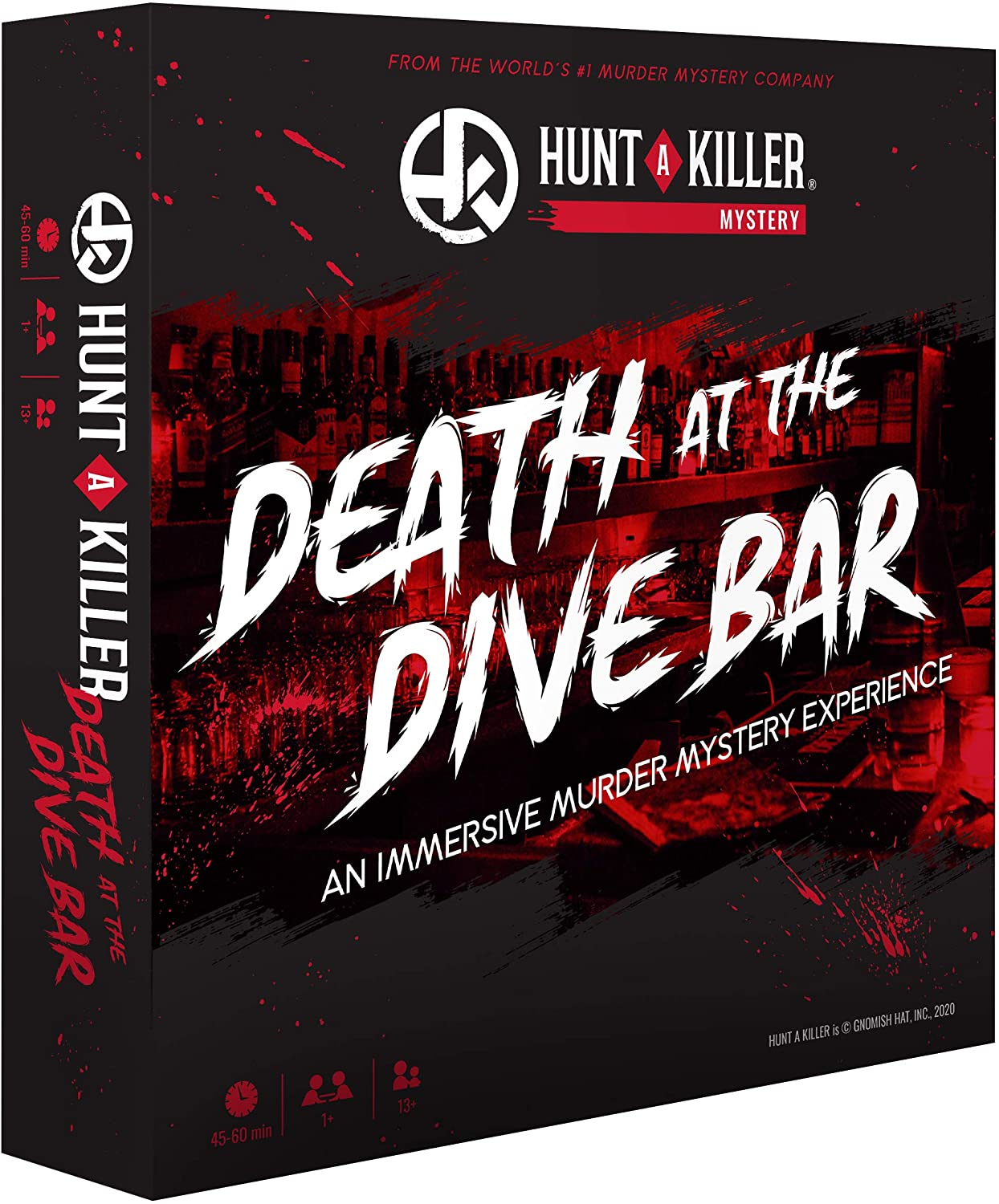 Hunt A Killer Death at The Dive Bar, Immersive Murder Mystery Game