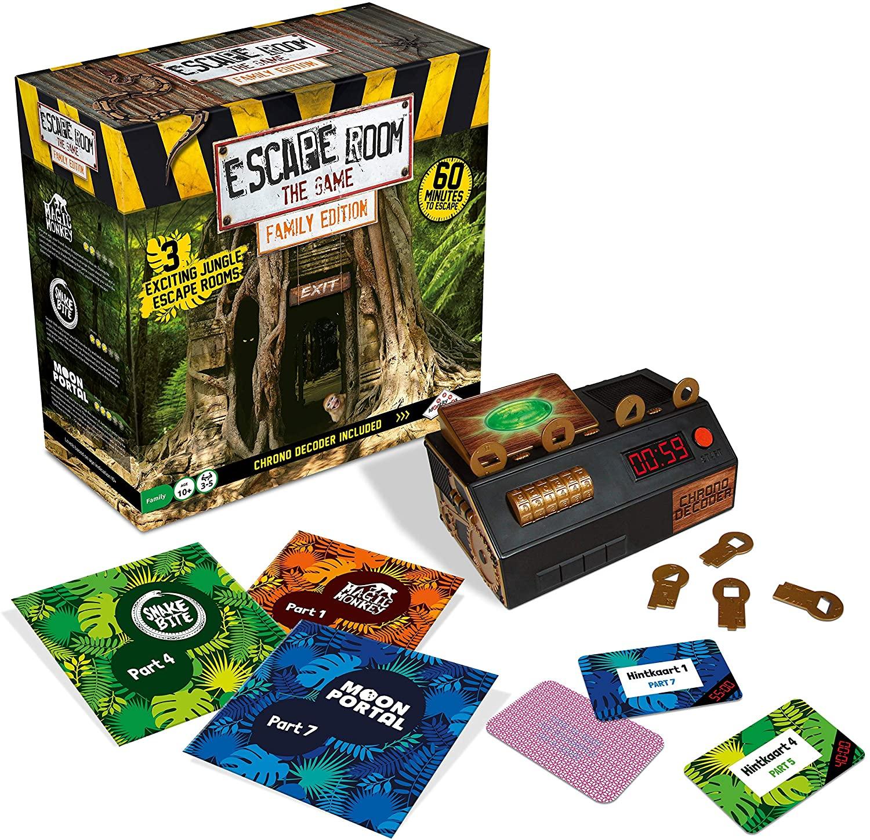 Jungle Escape Room Kit For Families