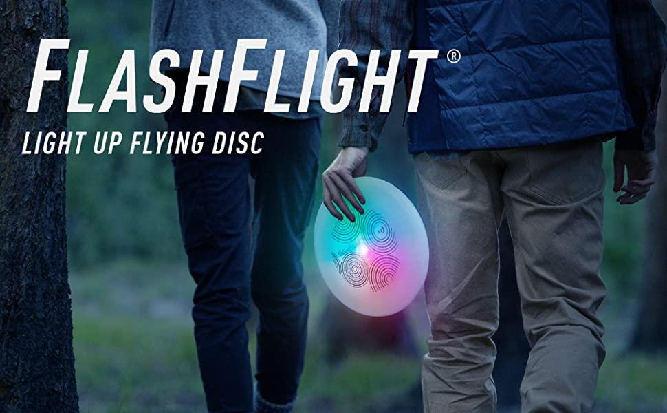 LED Light Up Flying Disc for Night Games