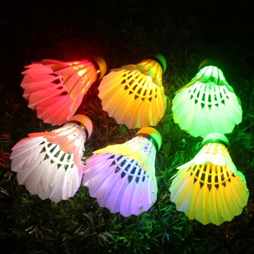 LED Shuttlecock Badminton Birdies