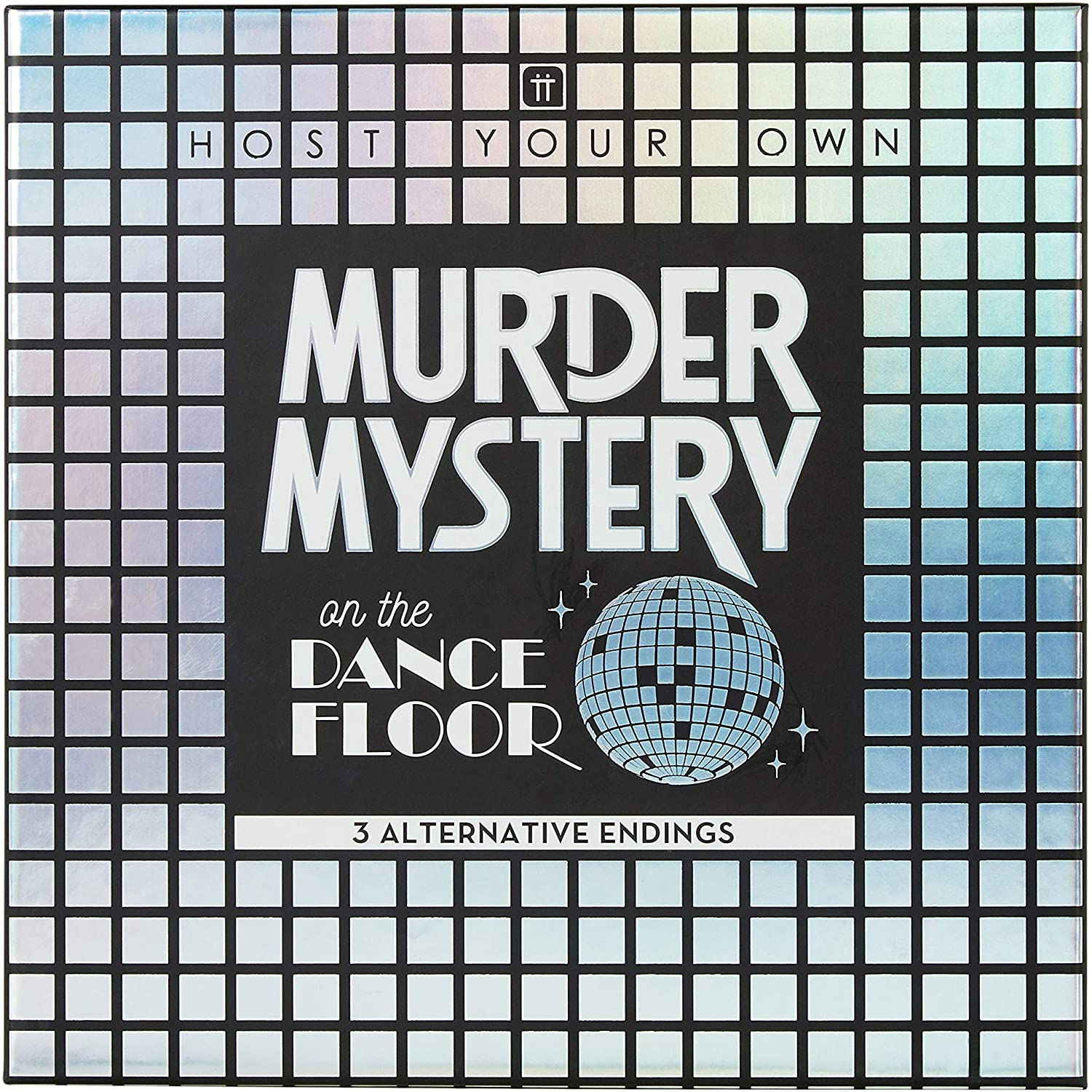 Murder Mystery on The Dancefloor - Murdery Mystery Party Game