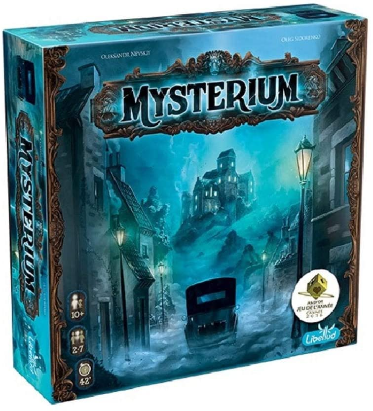 Mysterium Board Game - Mystery Board Game For Adults