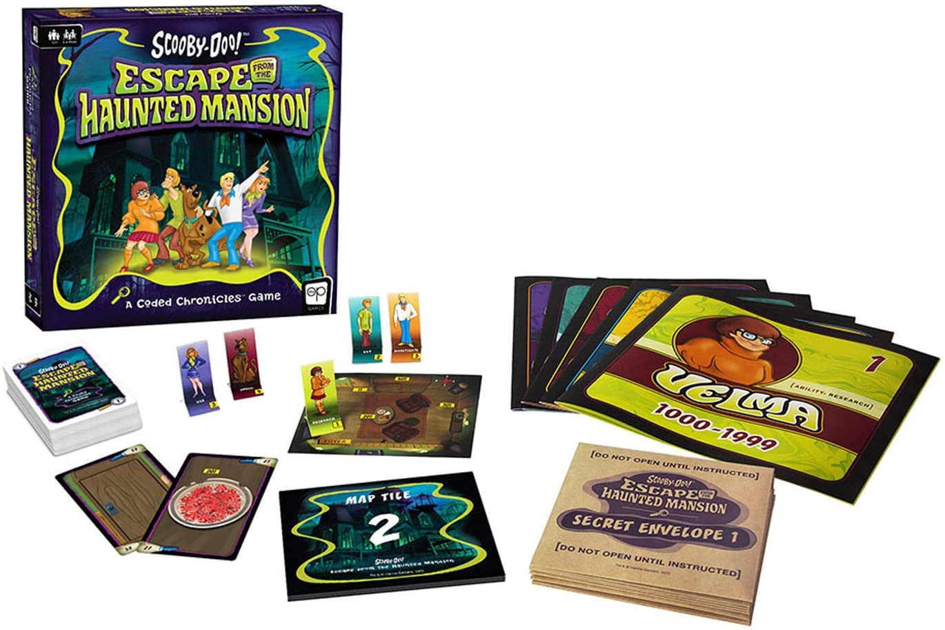 Scooby-Doo Escape from The Haunted Mansion kit