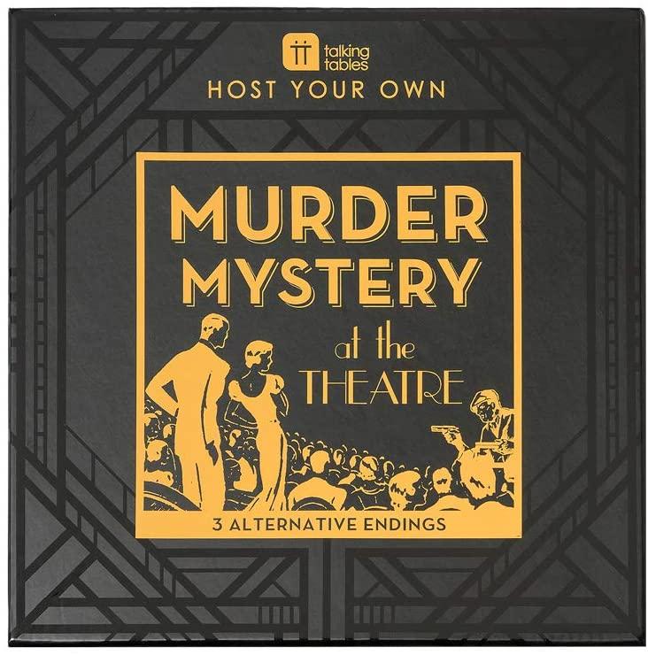 Talking Tables Reusable Murder Mystery Game Kit