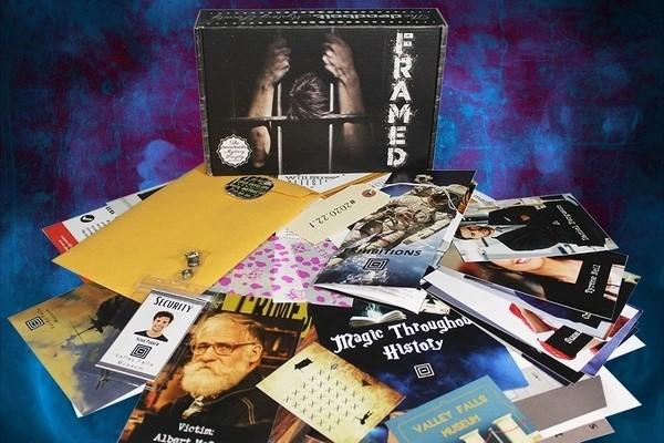 The Deadbolt Mystery Society Monthly Murder Mystery Subscription Box (Medium)