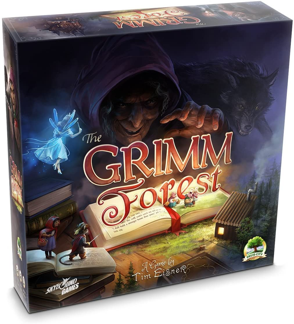 The Grimm Forest A Fairytale Inspired Strategy Board Game