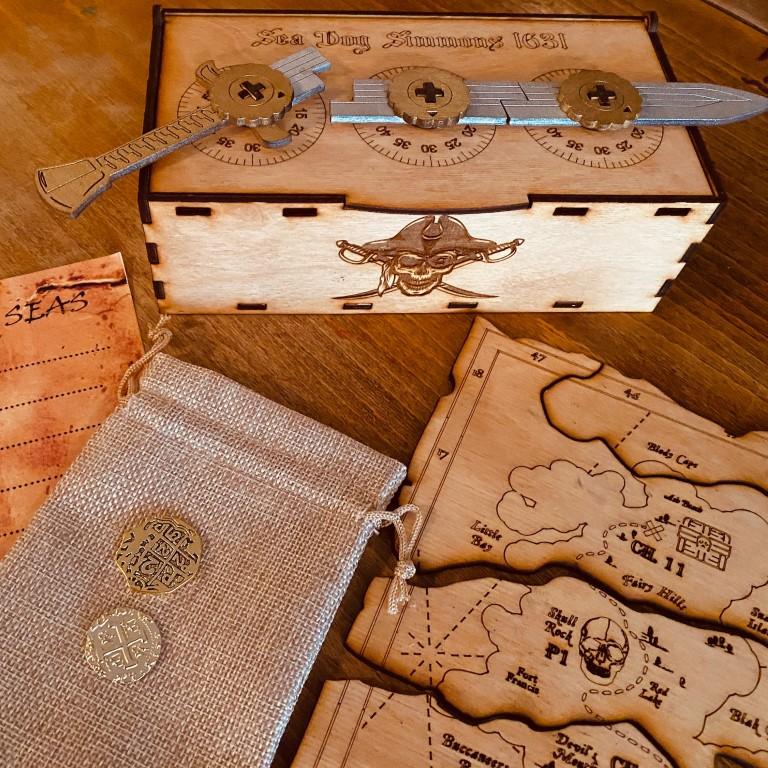 The Treasure Hunters Scavenger Hunt & Outdoor Escape Game at Home (Medium)
