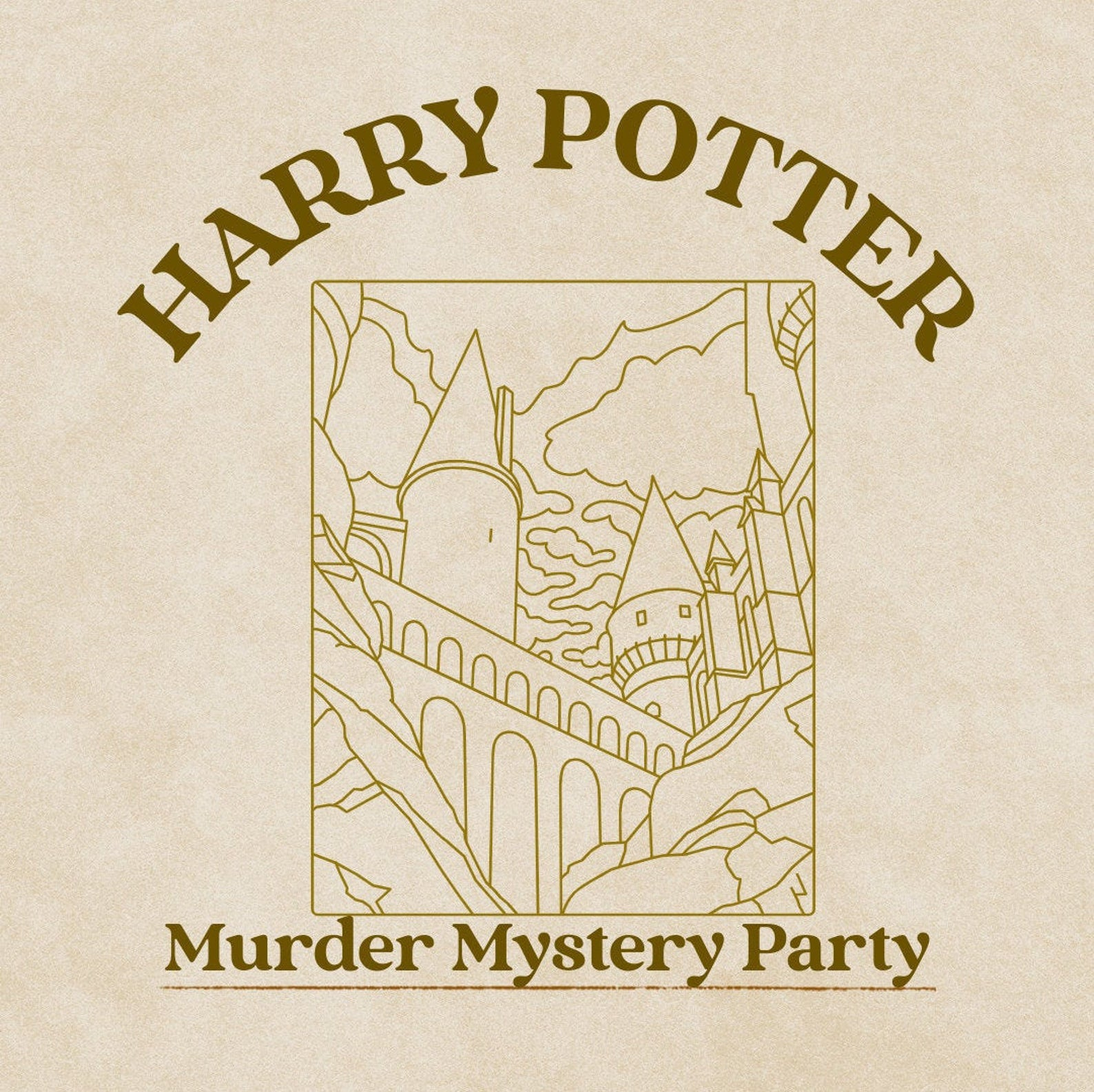 Wizard World Murder Mystery Party Game