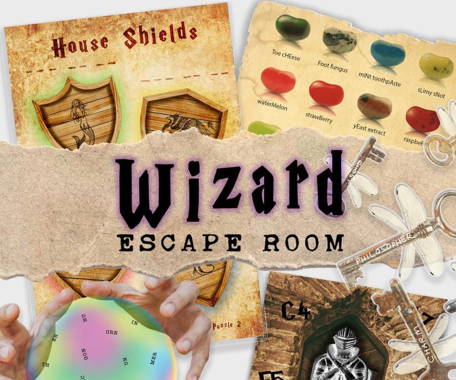 Wizard themed escape room kit (Medium)