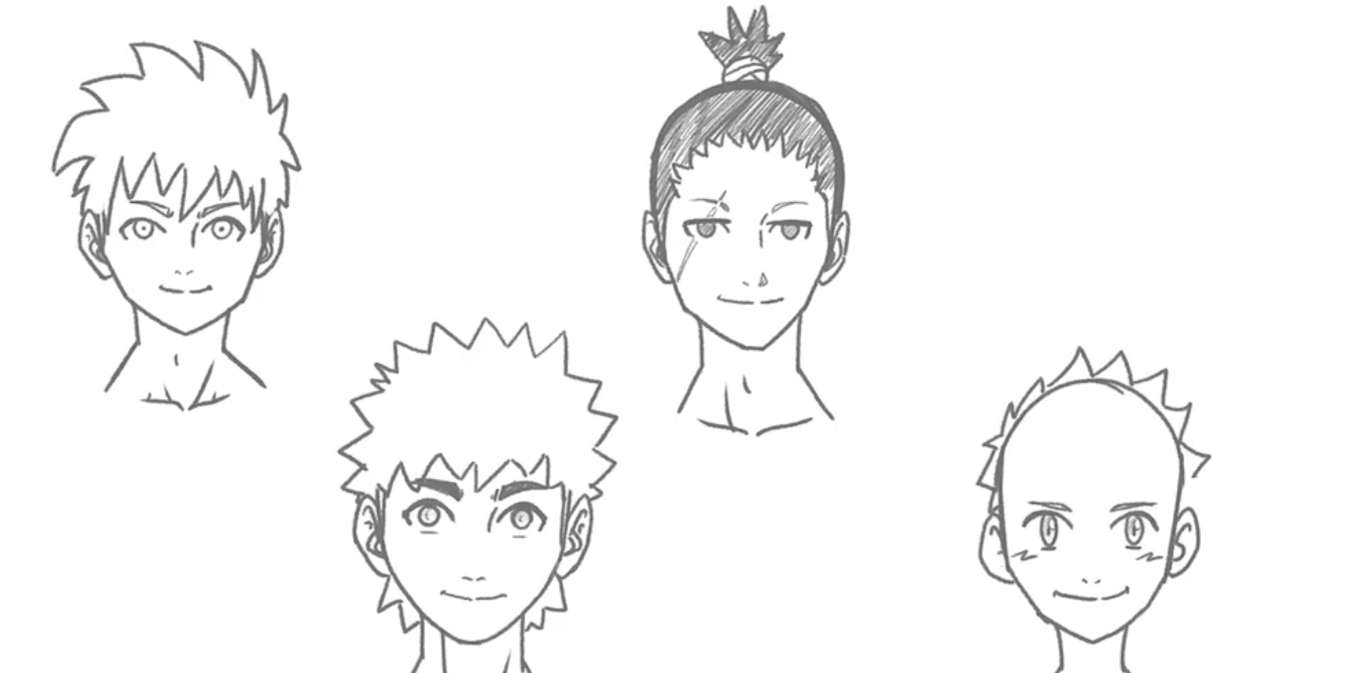 anime drawing courses - Draw Anime Head