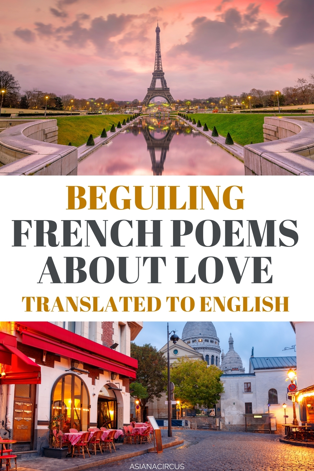 best French Poems About Love in English