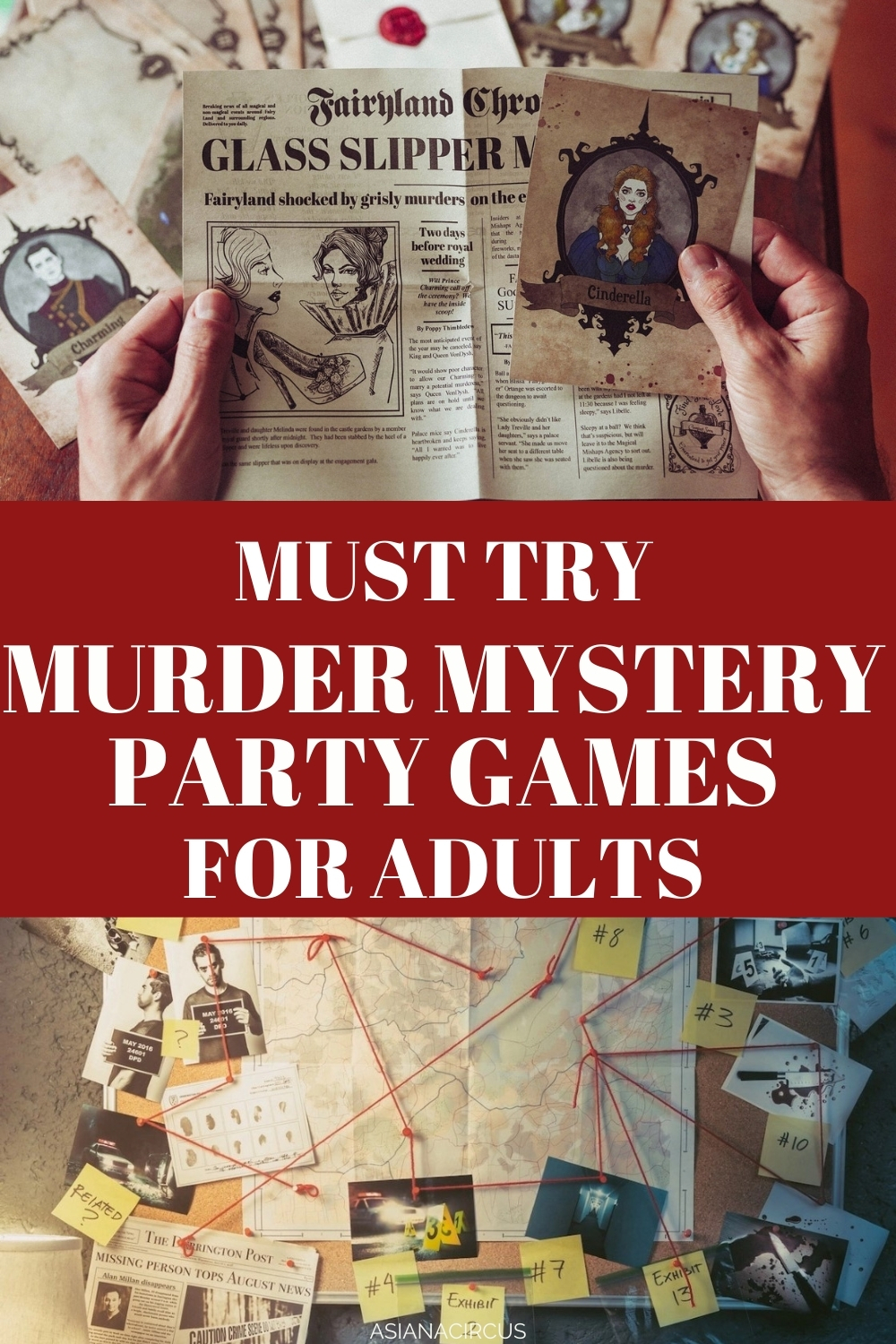 best murder mystery party games for adults