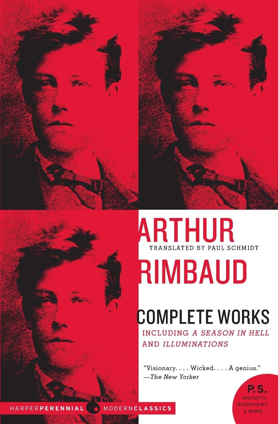 complete works of Arthur Rimbaud famous french poems about love and life