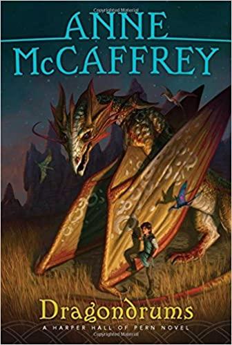 dragondrum by anne mccaffrey - sci-fi fantasy books about dragons